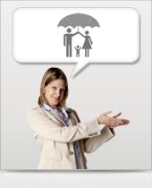 Risikoversicherung Icon