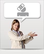 Unfallversicherung Icon